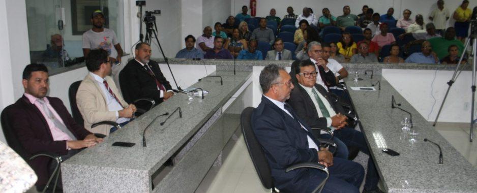 Camara reuniu comunidade e vereadores na homenagem a Joseilson Marcelino