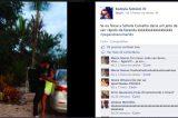 Morena divulga foto beijando marido de Scheila Carvalho