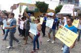 Servidores de Uauá realizam ato público no dia da Independência da Bahia