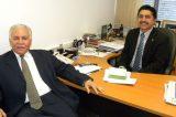 Deputado Roberto Carlos recebe Joseph Bandeira