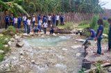 Estudantes da Escola Estadual Helena Celestino conhecem o abastecimento de água na região do Salitre