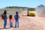 Em Araripina, moradores denunciam paralisação de transporte escolar. Governo diz que notificará empresa