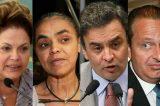 Chapa de Dilma/Temer perderia no Sudeste, Norte e Centro Oeste para a de Marina/Eduardo