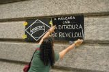 Professores protestam contra aprovação de plano de cargos e salários
