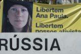 Ativista brasileira do Greenpeace é oficialmente acusada de vandalismo na Rússia