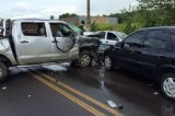 Menino de 6 anos morre em acidente com três veículos