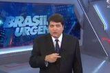 Datena fica fora de si após notícia da suposta morte de Paulo Gustavo ser anunciada