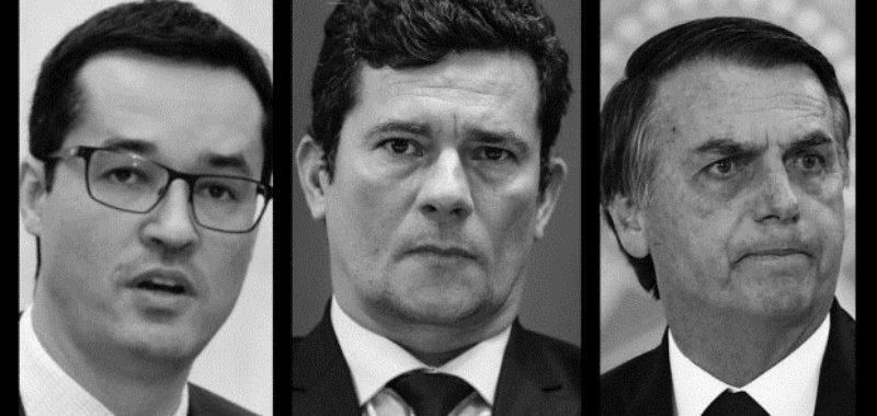 Bolsonaro recusou pedido de Moro para Dallagnol na PGR