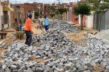 Obra de pavimentação da Rua Durval Barbosa da Cunha está 80% concluída