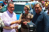 Casa Nova: Governador prestigia prefeito