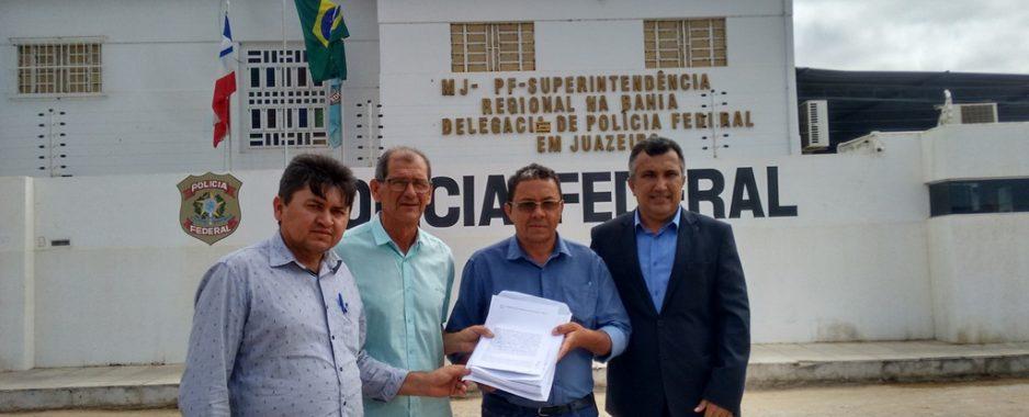 [Vídeo] Vereadores de Remanso denunciam prefeito Zé Filho na Polícia Federal por desvio de pagamento dos professores