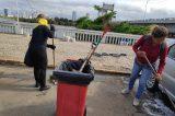 Secretaria de Serviços Públicos prossegue com a limpeza na cidade