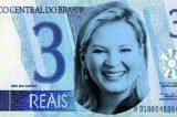 'Joice é falsa, igual a nota de R$ 3 reais'