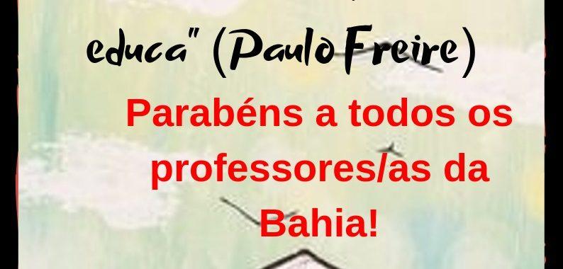 APLB-Sindicato de Juazeiro parabeniza os professores pelo seu dia