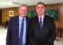 """Chapa branca: Bolsonaro diz que vai dar entrevista para Augusto Nunes porque eles """"têm uma posição muito parecida"""""""
