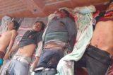 Ditadura boliviana inicia o massacre