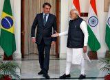 Brasil e Índia assinam acordos e parcerias