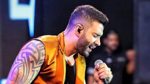 Vídeo: Palco pega fogo durante show de Gusttavo Lima em Ouricuri