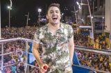 Jonas Esticado é único cantor cearense no principal Carnaval da Bahia