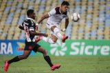 Sem torcida, Fluminense dá fim a jejum e vence Vasco no Maracanã
