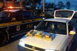 PRF prende homem com mais de 18 Kg de maconha em Senhor do Bonfim