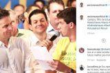 """Marília Arraes posta foto de João Campos com Aécio Neves: """"Recordar é viver"""""""