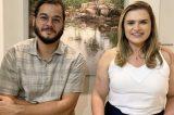 """Marília Arraes celebra apoio de Túlio Gadelha: """"Feliz de estar comigo nesta caminhada"""""""