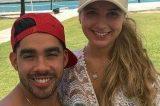 Ex-noiva de Gabriel Diniz assume namoro com colega do cantor
