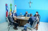 Berg da Carnaíba recebe a visita do ex-comandante geral da Polícia Militar Anselmo Brandão