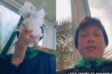 Kannário assume que 'cigarrinho de índio' era maconha e pede descriminalização da droga