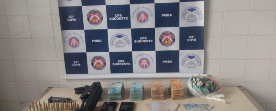 Suspeitos de atuar em ataque a bancos em Correntina são presos pela PM