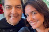 Luciana Cardoso, mulher de Faustão, é desligada da Globo