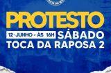Cruzeirenses fazem foguetório e marcam protesto contra presidente depois da derrota para Juazeirense