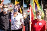 Artistas contra Bolsonaro: Malu Mader, Tony Bellotto e Paulo Betti marcam presença no ato 24J do Rio