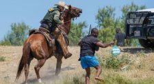 A história por trás das chocantes imagens de agentes caçando imigrantes nos EUA