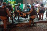 Policiais encerram festas de paredão e apreendem equipamentos e veículos